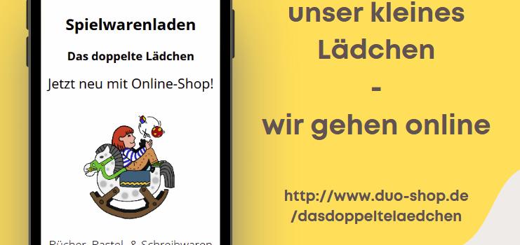 Wir gehen für euch online!!!